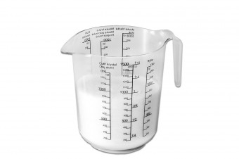 Measuring cup 1,5 l printed